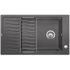 Кухонная мойка Blanco Elon Xl 8 S Silgranit PuraDur (темная скала)
