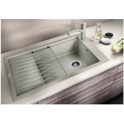 Кухонная мойка Blanco Elon Xl 8 S Silgranit PuraDur (серый беж)
