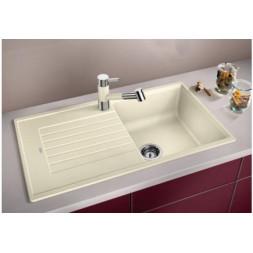 Кухонная мойка Blanco Zia 5 S Silgranit PuraDur (темная скала)