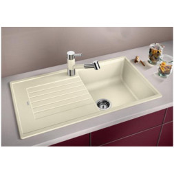 Кухонная мойка Blanco Zia 5 S Silgranit PuraDur (белый)