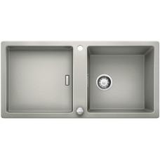 Мойка для кухни Blanco ADON XL 6 S SILGRANIT жемчужный с клапаном-автоматом