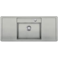 Мойка для кухни Blanco ALAROS 6 S (с белой доской) SILGRANIT жемчужный с клапаном-автоматом