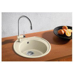 Кухонная мойка Blanco Rondoval 45 Silgranit PuraDur (жемчужный)
