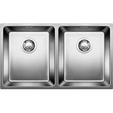 Мойка для кухни Blanco ANDANO 340/340-IF нерж.сталь полированная без клапана-автомата