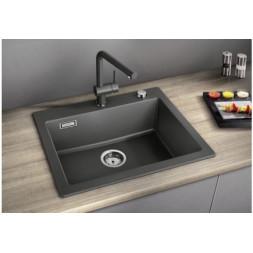 Кухонная мойка Blanco Palona 6 Керамика PuraPlus (черный)