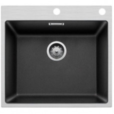 Кухонная мойка Blanco Subline 500-If/A Steelframe Silgranit PuraDur (антрацит)