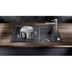 Кухонная мойка Blanco Elon 45S Silgranit PuraDur (темная скала)