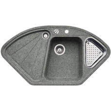 Кухонная мойка Blanco Delta-F Silgranit PuraDur (алюметаллик)