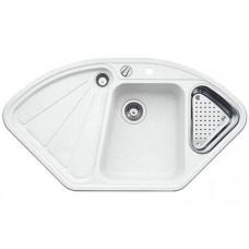 Кухонная мойка Blanco Delta-F Silgranit PuraDur (белый)