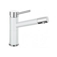Смеситель Blanco ALTA Compact (гранит) белый SILGRANIT – 515317