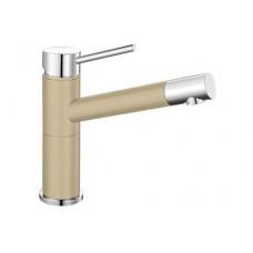 Смеситель Blanco ALTA Compact (гранит) шампань SILGRANIT – 515319