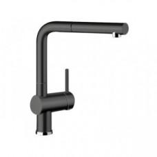 Смеситель Blanco LINUS-S черный/керамика – 516708